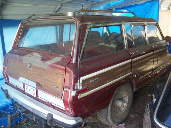 1987 Jeep Grand Wagoneer 360 V8 Auto For Sale in Southern ...