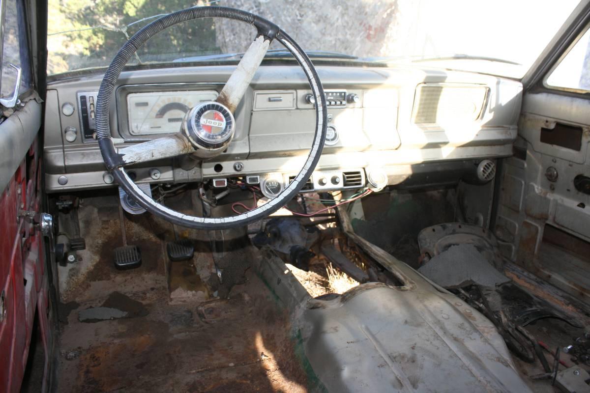 1965 Kaiser Jeep Wagoneer w/ V8 Vigilante TH400 For Sale ...