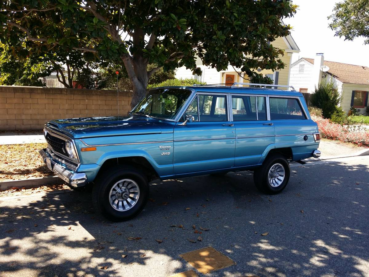 1978 Jeep Wagoneer Quadratrac 4X4 For Sale in Lompoc, CA ...