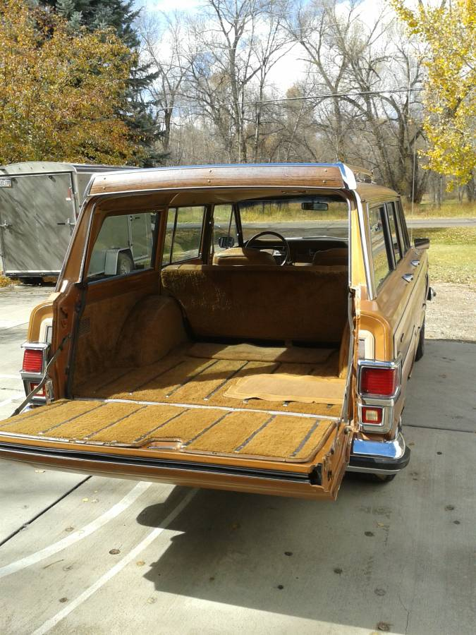 1978 Jeep Wagoneer Limited 401 V8 4X4 For Sale in Gunnison ...