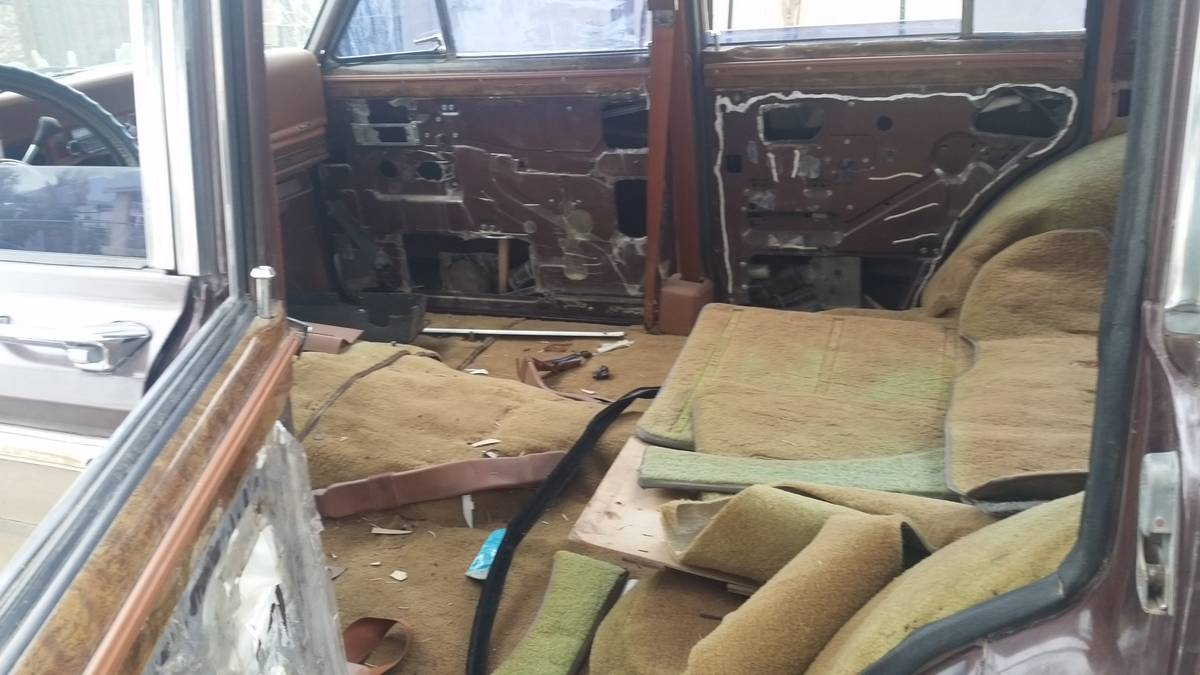 1983 Jeep Grand Wagoneer Project For Sale In Buckeye Az