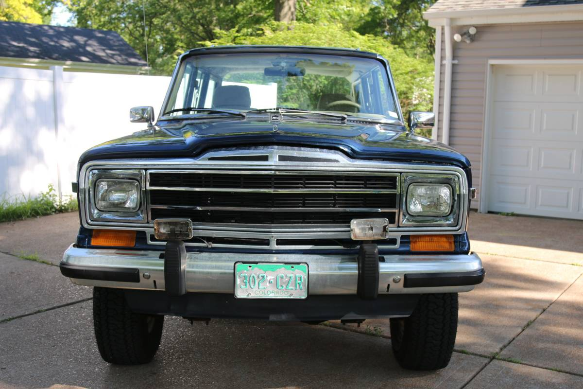 1990 Jeep Grand Wagoneer Blue For Sale in Chesterfield ...