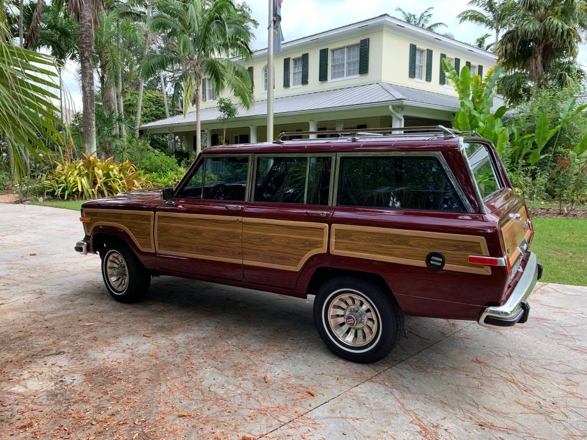 1985 Jeep Grand Wagoneer Red For Sale in Palm Beach ...