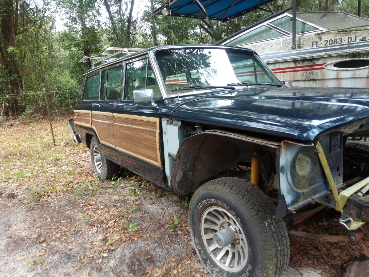 1991 Jeep Grand Wagoneer Project For Sale in South ...
