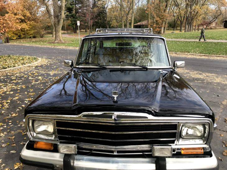 1987 Jeep Grand Wagoneer V8 Automatic For Sale in Troy ...