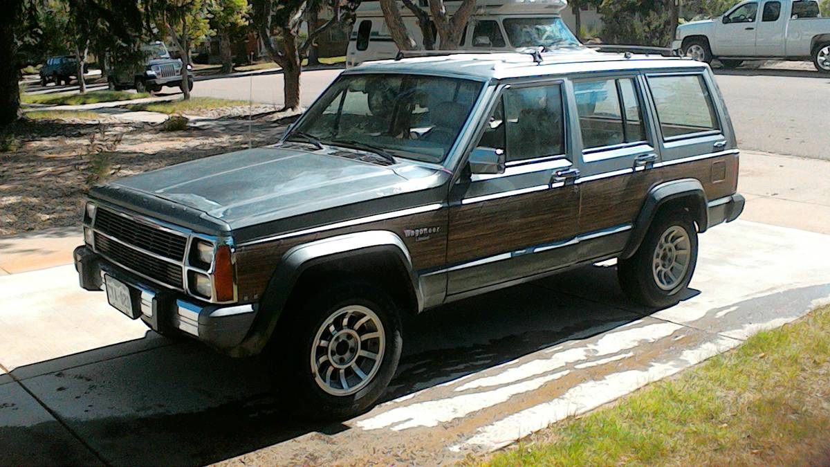 1989 Jeep Wagoneer XJ 6cyl Auto For Sale in Colorado ...