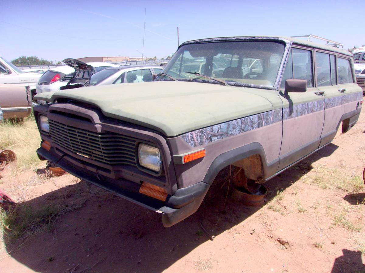 1984 Jeep Grand Wagoneer Parts Vehicle For Sale in El Paso, TX