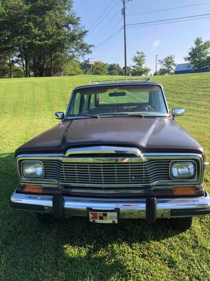 1980 Jeep Wagoneer Limited Project V8 Auto For Sale in ...