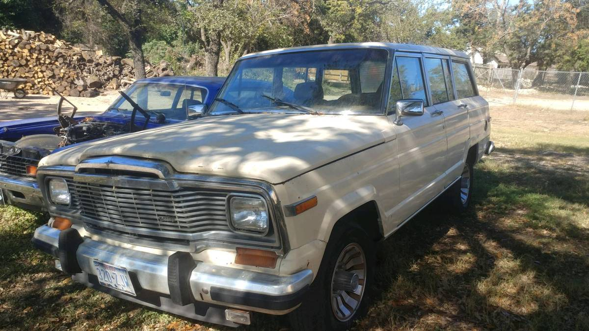 1985 Jeep Wagoneer 360ci V8 Automatic For Sale in Oak Hill, TX